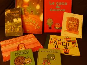 Livres ramenés du Salon du Livre d'Albert 2016
