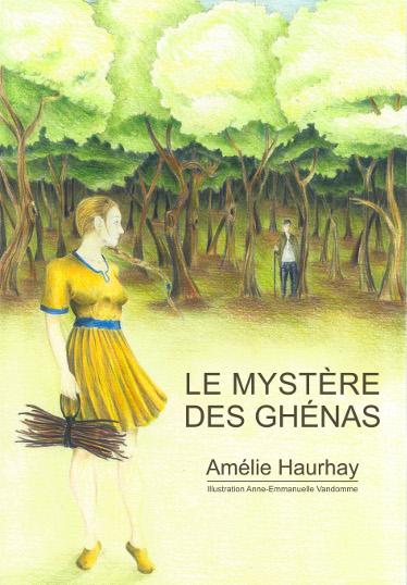 Le mystère des Ghénas - Couverture