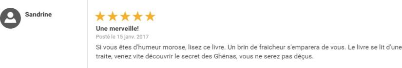 Le Mystère des Ghénas sur Fnac.com