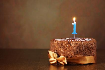 Gâteau au chocolat - Premier anniversaire