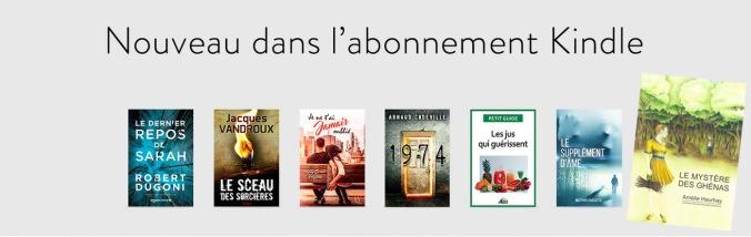 Le Mystère des Ghénas dans les nouveautés Abonnement Kindle