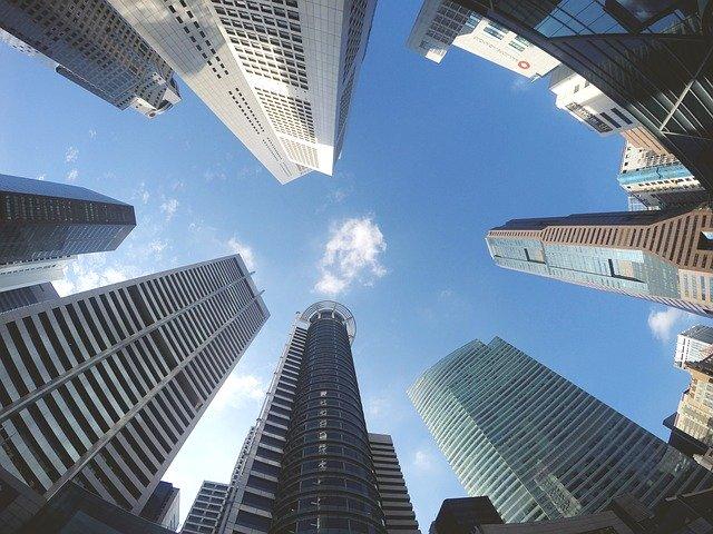 Immeubles de bureaux en ville